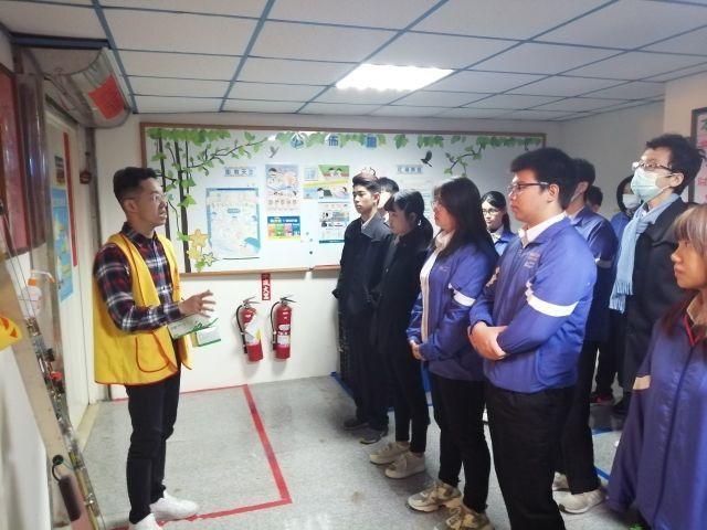 108-1學期交通安全教育「與生命有約」,參訪創世基金會新竹分院